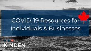 COVID 19 Economic Response Plan Summary - Kinden CPA